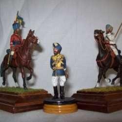 LA CABALLERIA DE LA INDIA BRITANICA y II LAS STATE FORCES (IMPERIAL SERVICE)